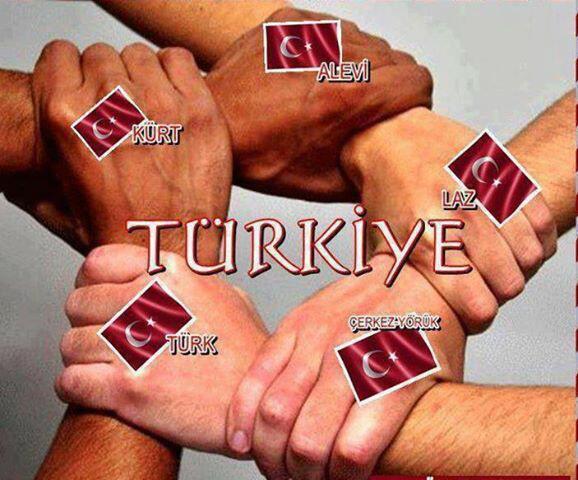 Birlik beraberlikle biz co�kuluyuz.