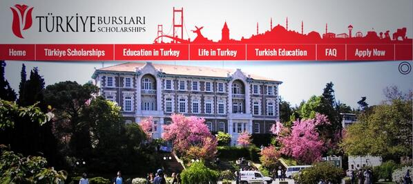 Turkey Undergraduate and Postgraduate Scholarships 2018