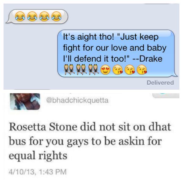 Furthest Thing on Twitter: I be slick using Drake pick up