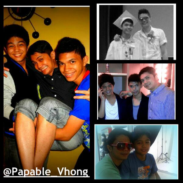 """on Twitter: """"CUTE!☺♥ """"@Papable_Vhong: Vhong Navarro with his sons"""