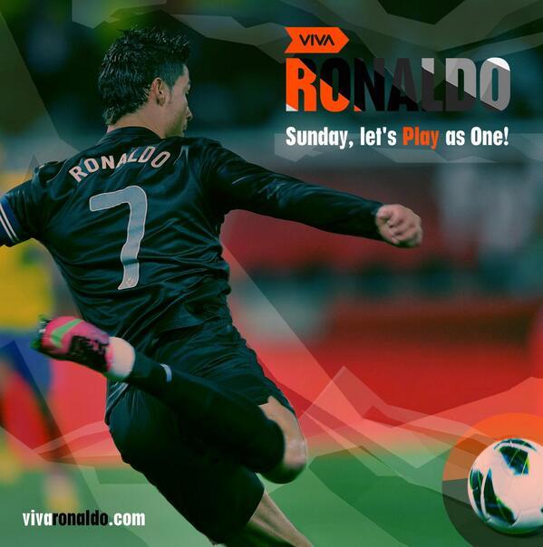 Cristiano Ronaldo on Twitter