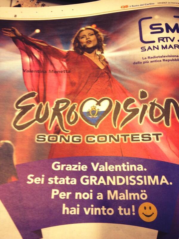 "San Marino 2013 >> Valentina Monetta ""Crisalide"" - Página 3 BLBeIADCAAAoiFD"