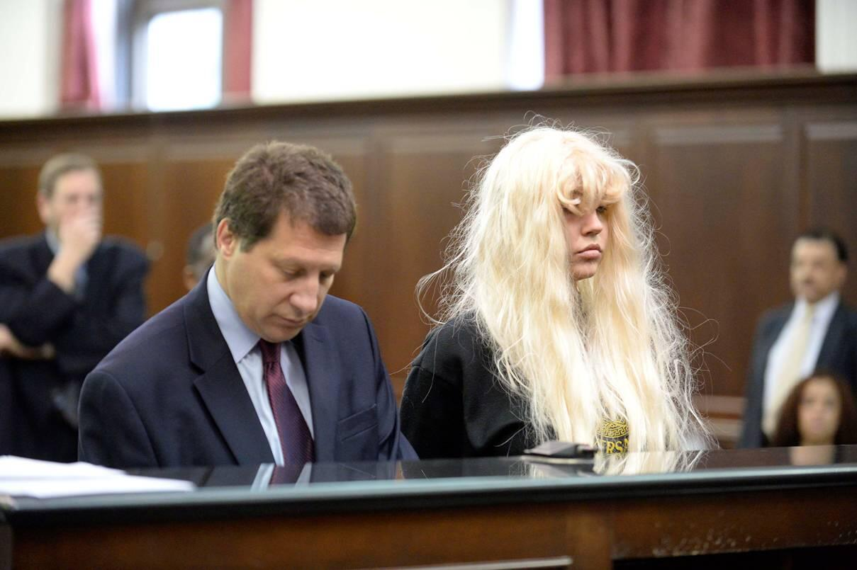 Twitter / nypost: Rough night? Amanda Bynes appears ...