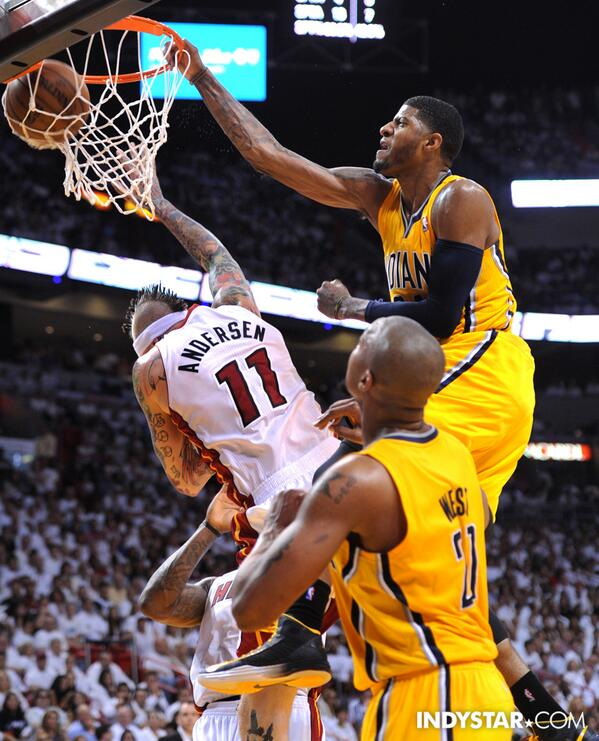 Zak keefer on twitter the paul george posterization another zkeefer the paul george posterization another awesome photo via mattkryger picitterfexg3n8uba new iphone wallpaper voltagebd Image collections