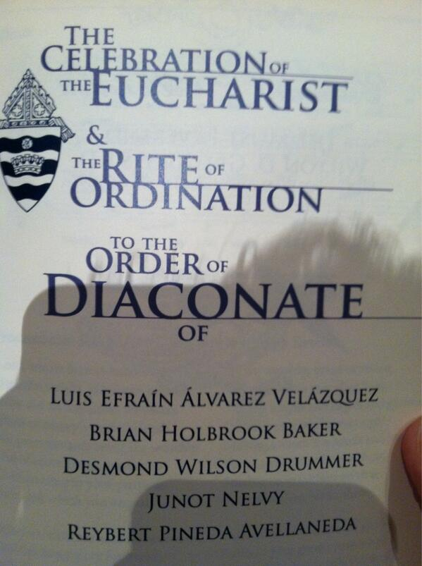 Program for the celebration at @CathedralCTK pic.twitter.com/aM0xIlZmJf