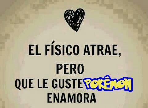 Maestro Pokemon On Twitter El Fisico Atrae Pero Que Le Guste