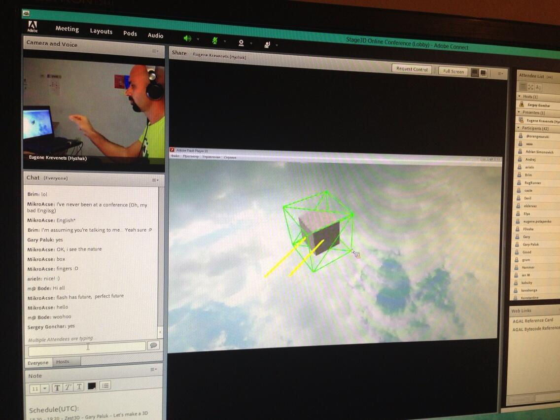 Leap Motion / Getting Started with Raw Data