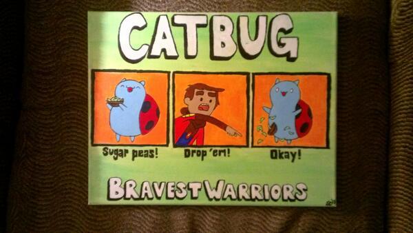 Sara On Twitter Sugar Peas Drop Em Okay Catbug
