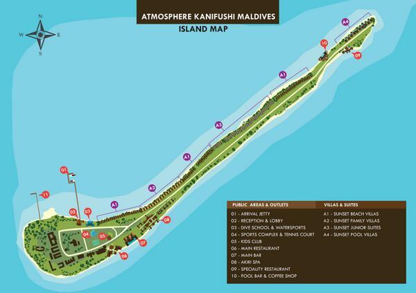 Atmosphere Kanifushi On Twitter The Island Map Of