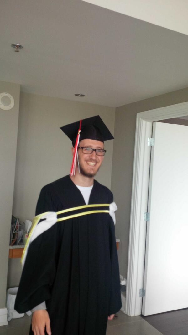 Excited to see my son graduate BSc at McGill Science A convocation tomorrow pic.twitter.com/TZv1cgixql