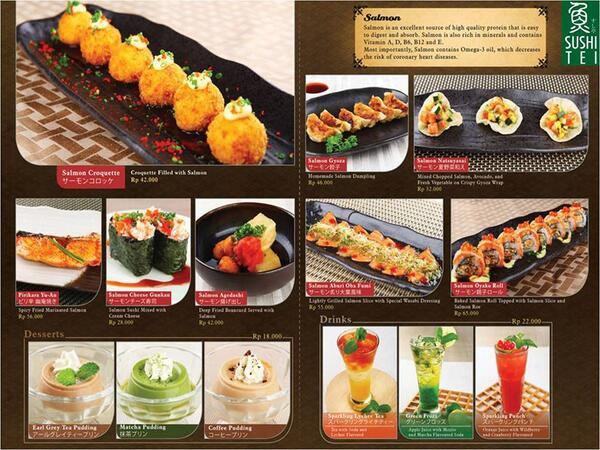 Sushi Tei Bandung On Twitter Have No Idea For Your Lunch Menu