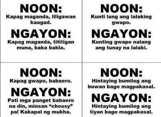 Tagalog Funny Quotes On Twitter Noon At Ngaun T Co Ijiejngqm