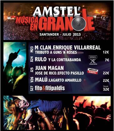 Frases Rylc On Twitter Amstel Musica En Grande Santander
