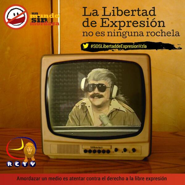 A 6 años del cierre de RCTV en Venezuela #lamordazaescubana http://t.co/8Rp9m2oZZD