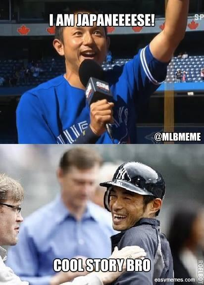 """mlb memes on twitter: """"not everyone was impressed with munenori"""