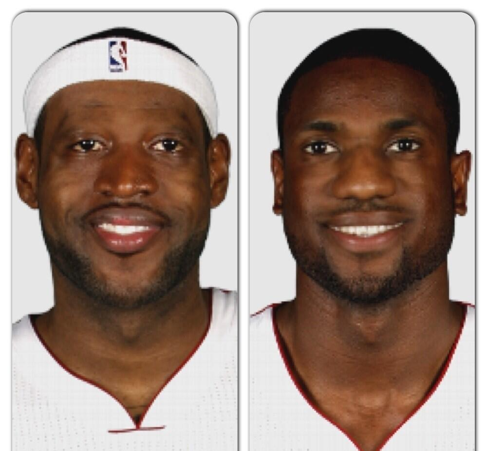 "NBA Face Swap On Twitter: ""@RTNBA Lebron"