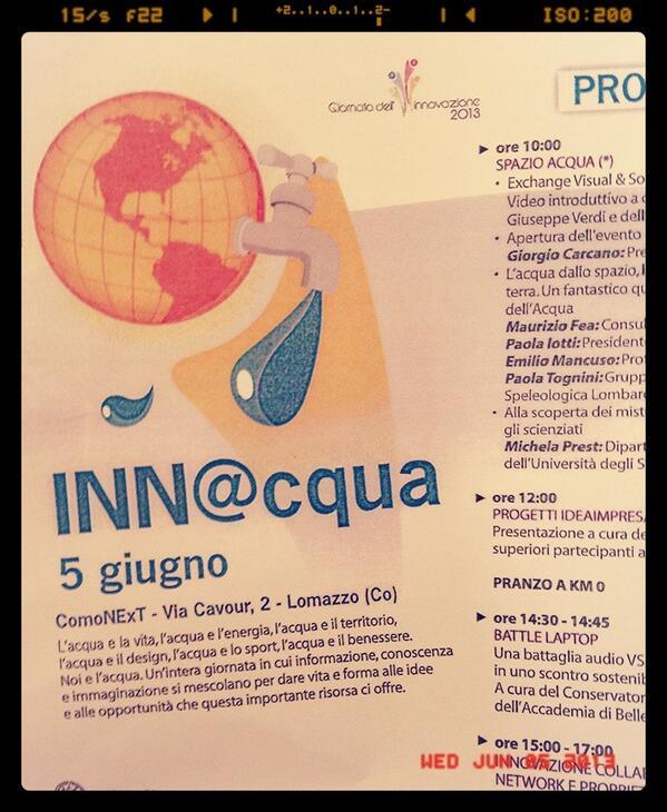#innacqua pic.twitter.com/MS3lpIURI2