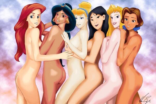 Nude princesses