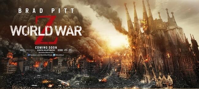 """FILM >> """"Guerra Mundial Z (World War Z)"""" BLbZ7NLCcAA9xmc"""
