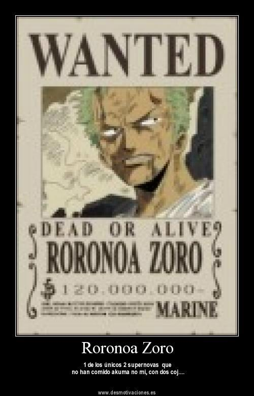 380 x 580 mm P/óster Wanted Roronoa Zoro 15x23 P/óster One Piece 38 x 58 cm