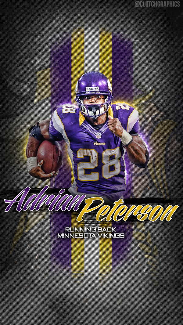 Clutch Graphics On Twitter Adrian Peterson Wallpaper