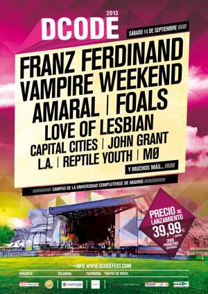 música, festivales, DCODE FEST 2013