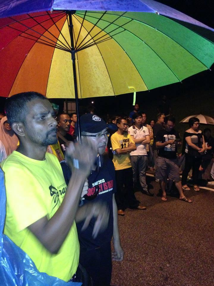 Vigils for Safwan Anang at Sungai Buloh and mainland Penang (Photos)