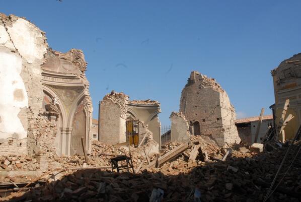Terremoto emilia romagna oggi sentito a san felice sul for Oggi in romagna