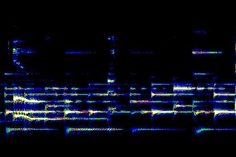 """#hipstas here's what simple fingerpicking looks like in an ARLO spectrograph of Cisco Houston, """"Hound Dog"""" #dhsound pic.twitter.com/UV5HPIynMe"""
