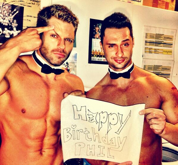 Chippendales Happy Birthday