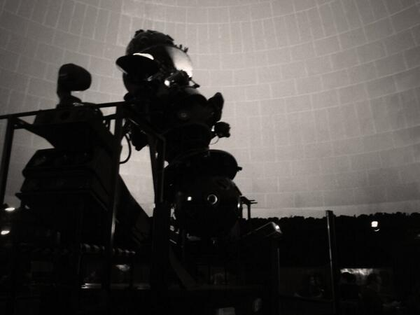 Al planetarium waiting for 'la poesia delle stelle' #wirednextfest pic.twitter.com/KgwAj2rNOL
