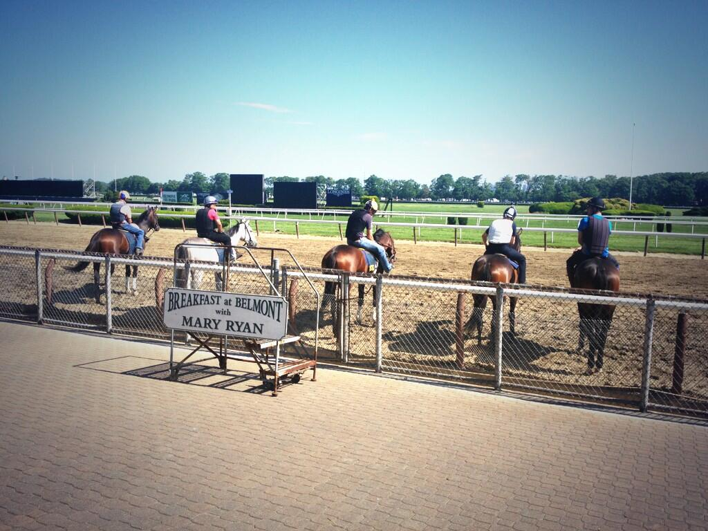Twitter / clementstable: Beautiful Belmont Park! @NYRAnews ...