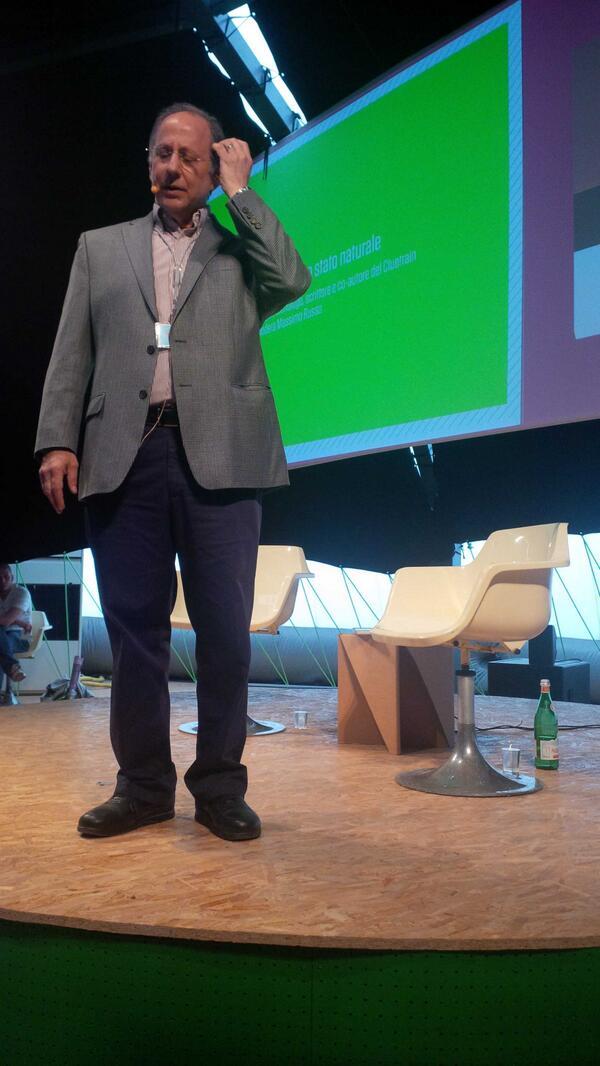 #wirednextfest #Weinberger sulla conoscenza al suo stato naturale pic.twitter.com/TfyUFmOXEk