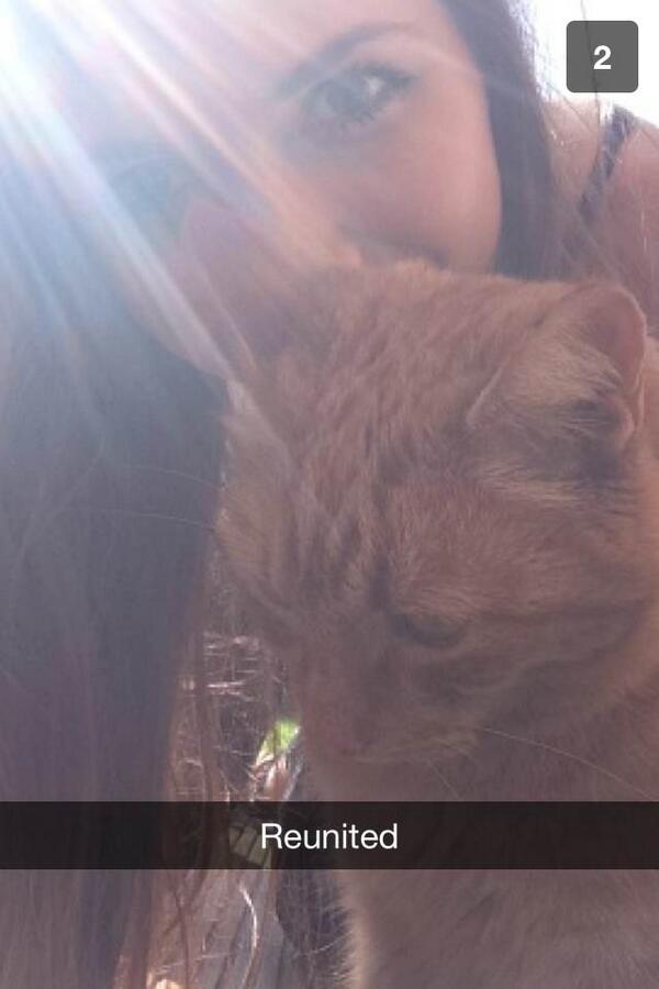 lucy cat snapchat