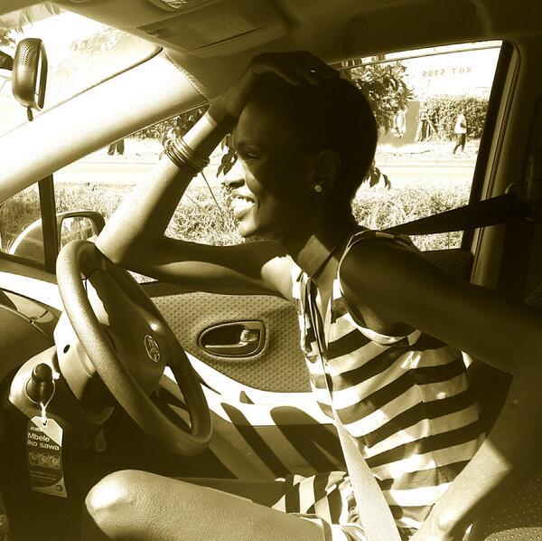 Ajuma Nasenyana  - Lovely wakin twitter @ajumanasenyana