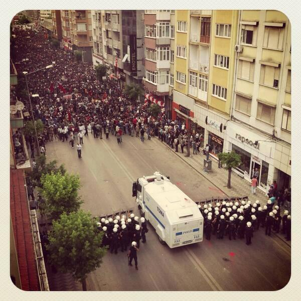 Open thread: Brief notes from the #OccupyTurkey