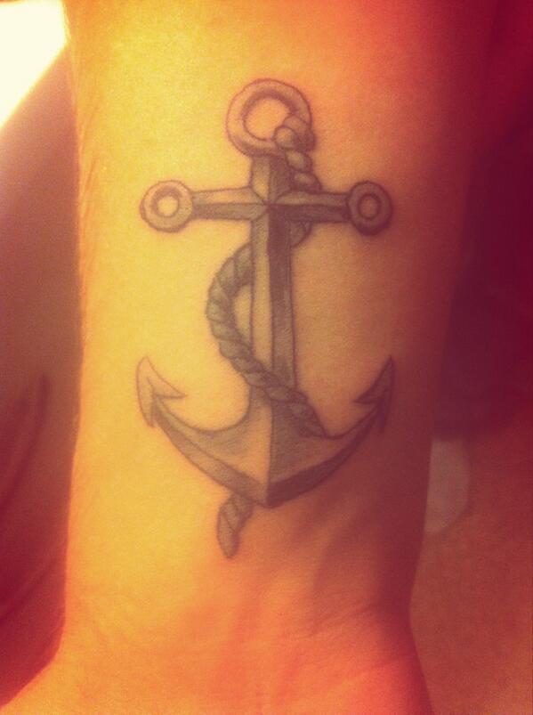 Audreysteph On Twitter Le Nouveau Tattoo Ancre Bateau Http T Co R0ekeudmdf
