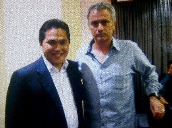 Jose Mourinho Komentari Posisi Erick Thohir di Inter Milan