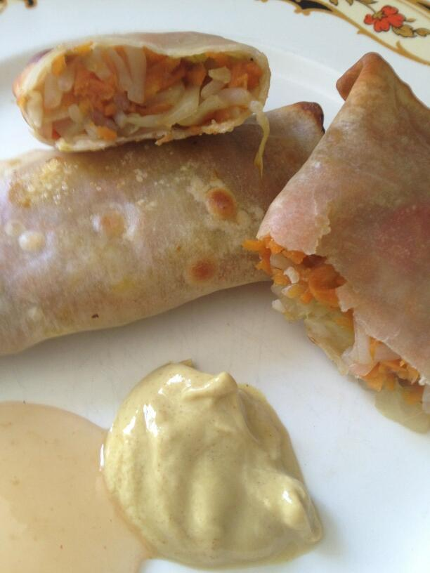 Twitter / LorineMS: Yummy homemade egg rolls for ...