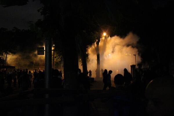 Beşiktaş'tan son durum #direnbesiktas #direngeziparkı Foto: Volkan Cagalı pic.twitter.com/nFj9xSoGsH