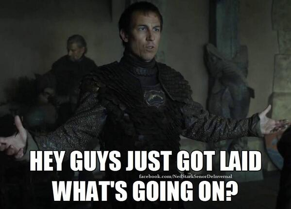 Red Wedding Reaction.Aaron Brown On Twitter Apoiaf Edmure S Reaction To The Red