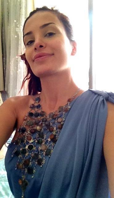 صور دومينيك حوراني في برنامج Splash بفستان مثير و قصير جدا 2013