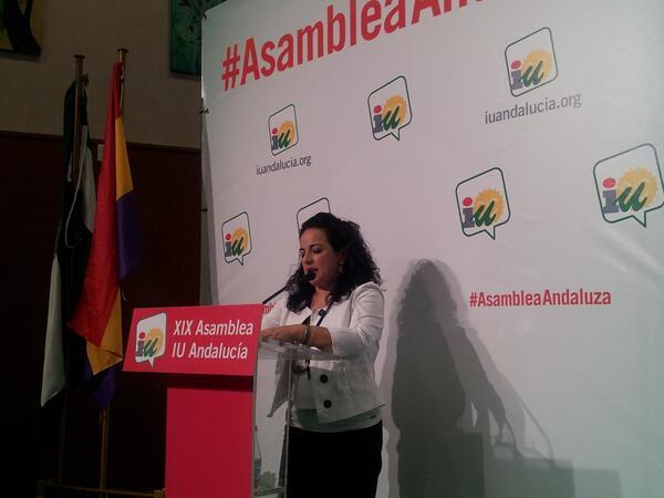 Encarni Milla defiende su candidatura para coordinar IULV-CA #AsambleaAndaluza pic.twitter.com/wXdb8ce1Pb