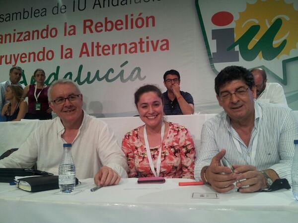 .@cayo_lara, @InmaNietoC y @DValderasS #AsambleaAndaluza pic.twitter.com/eJiP2arSIE