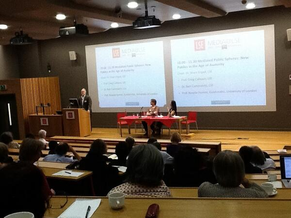 Fascinating day to reflect on the new publics, digital literacies and transnational cultures at the LSE. #LSEMC10 pic.twitter.com/6Ex5SovDnf