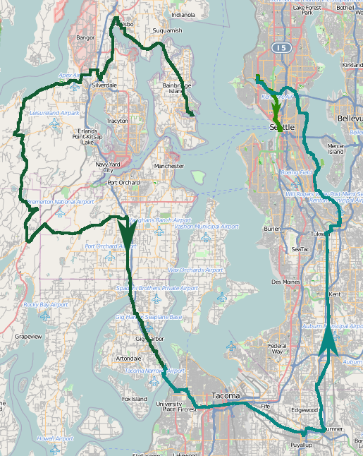 Yesterday: 140.45 mi and one thrown-out knee. #cycling pic.twitter.com/2LfTEPJEi8