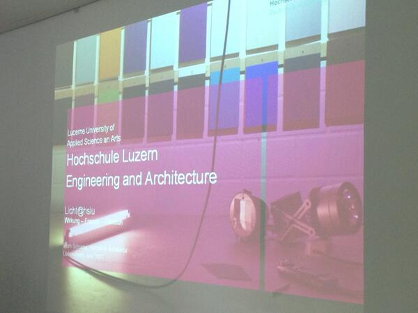 RT @arcspaces: Björn schrader about learning #light in switzerland #lightedu @erco_lighting pic.twitter.com/kM3QwEhOsm