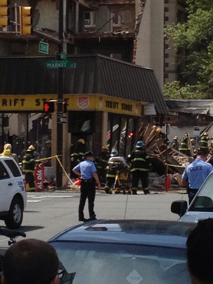 building collapse 22nd market st