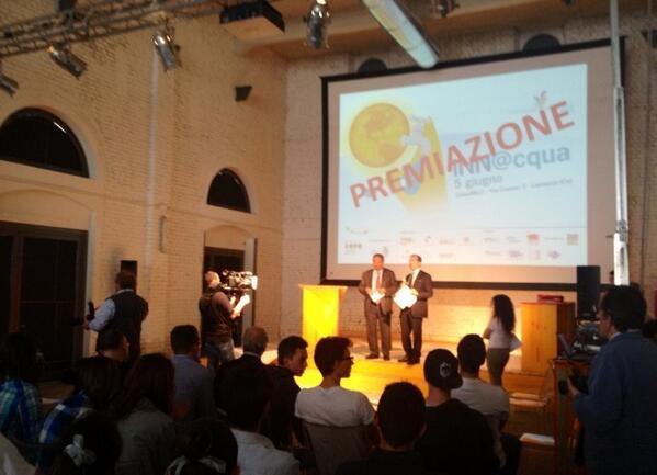 #innacqua la giornata dell'Innnovazione per valorizzare #giovani #talenti si conclude con la premiazione dei progetti pic.twitter.com/UlwRY6TY2c