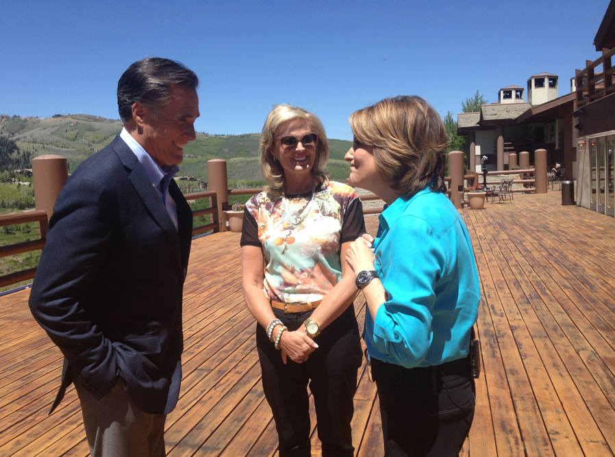 Twitter / MittRomney: .@AnnDRomney and I got to spend ...